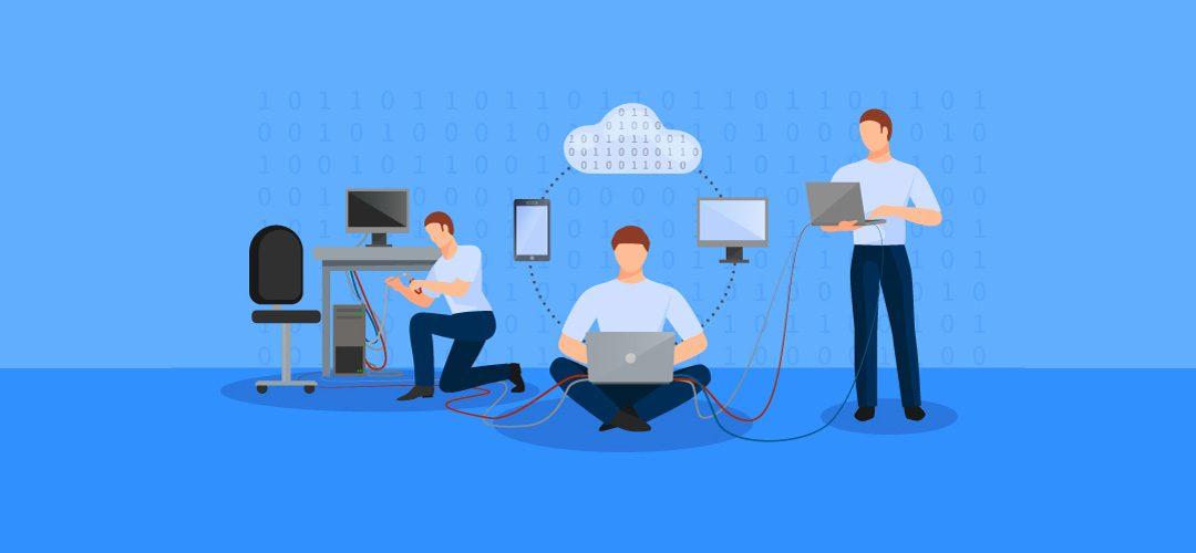 تیم پشتیبانی شبکه
