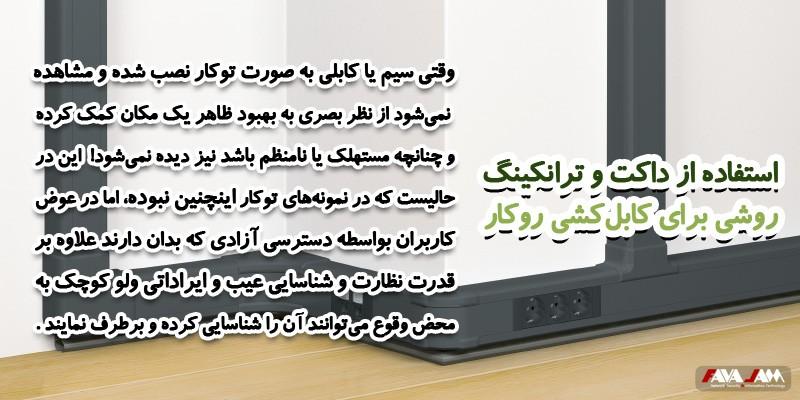 کابل کشی روکار شبکه